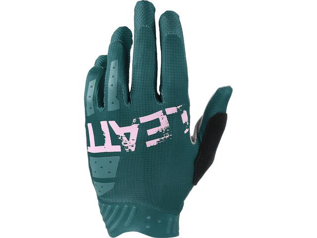 Leatt DBX 1.0 GripR Gloves Women, petrol